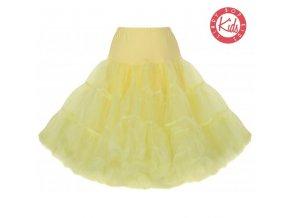 spodnička tutu sukně žlutá