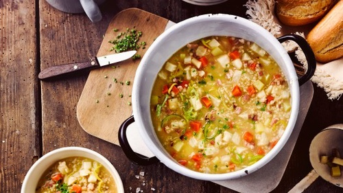 Ječmenná klasická polévka
