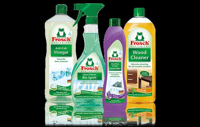 Produkty Frosch, co o nich nevíte a proč je používat