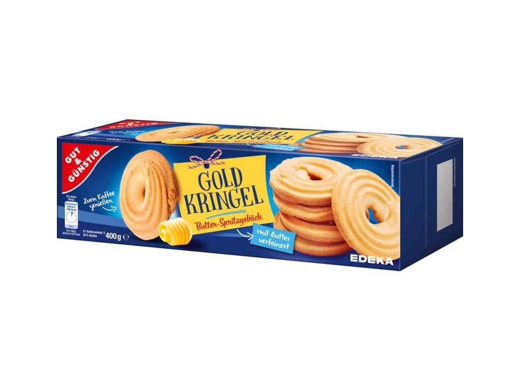G&G Máslové stříkané kroužky 400g