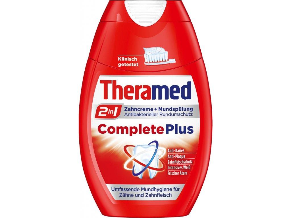Theramed 2in1 CompletePlus Zubní pasta + ústní voda 75 ml  - originál z Německa