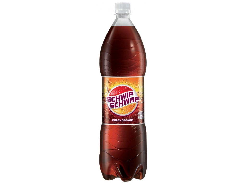 Schwip Schwap, Cola+Orange 1,5 L  - originál z Německa