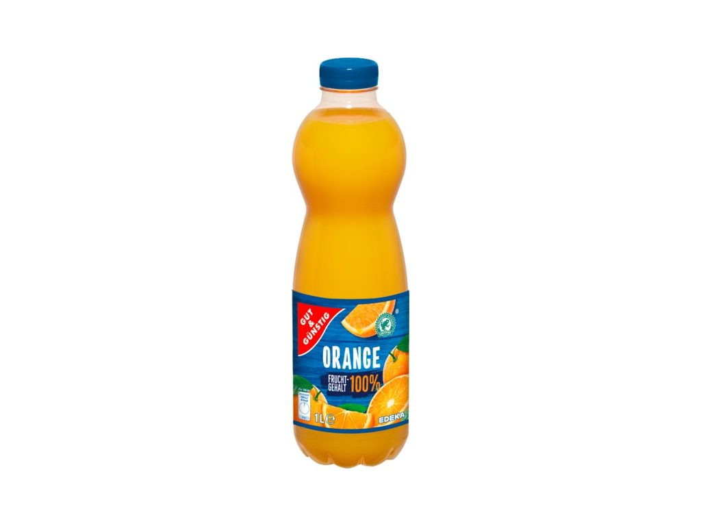 G&G Pomerančový džus 100%, 1l