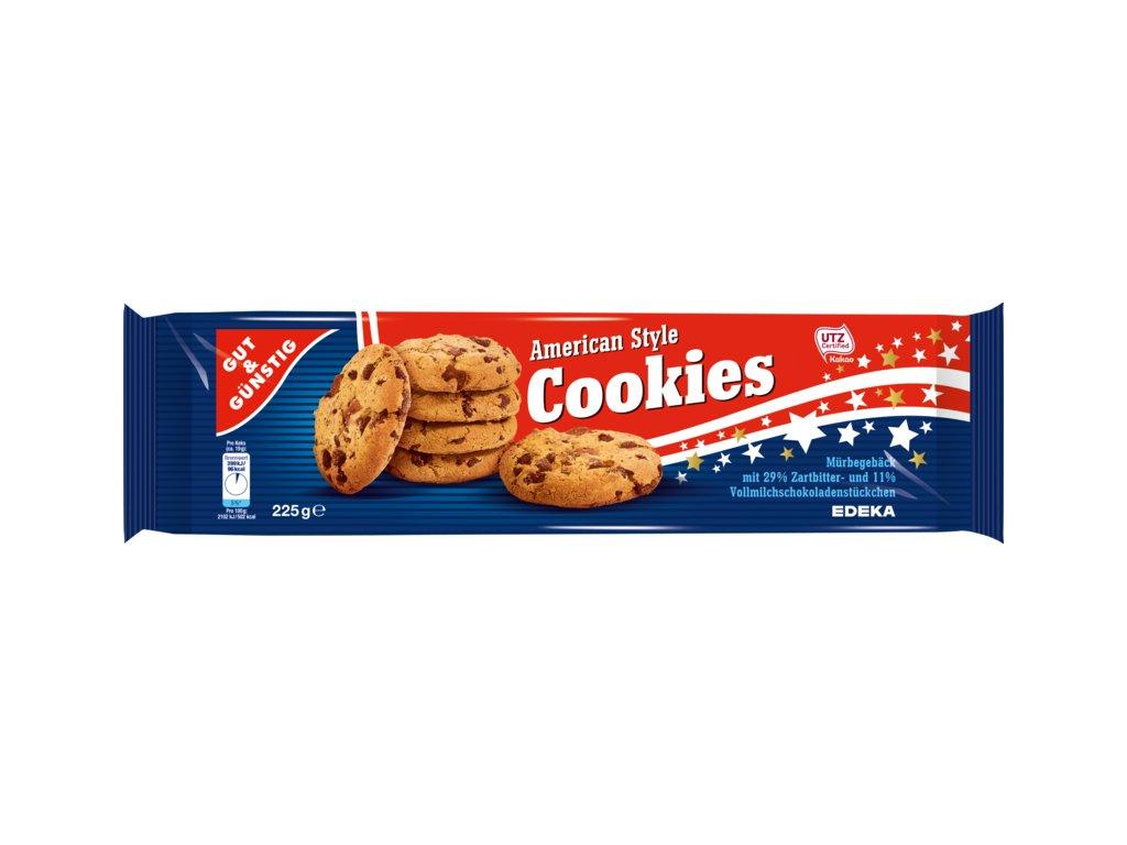 G&G American Style Cookies 225g  - originál z Německa