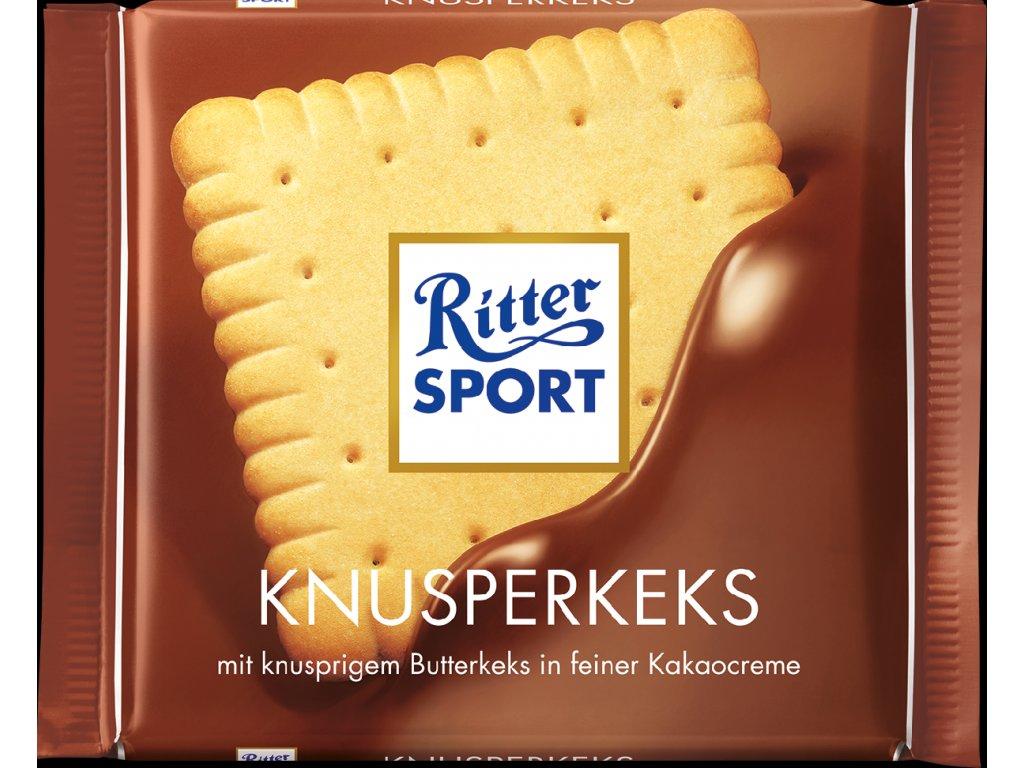Ritter Sport Knusperkeks čokoláda 100 g  - originál z Německa