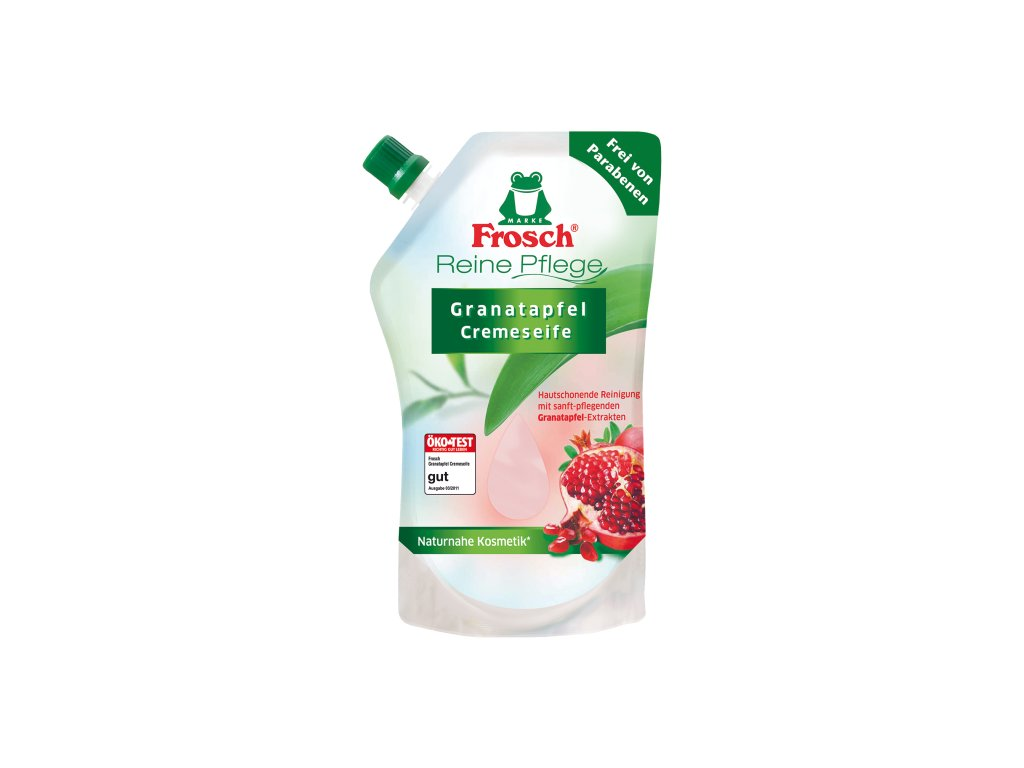 Frosch Tekuté mýdlo s granátovým jablkem - náhradní náplň 500 ml  - originál z Německa