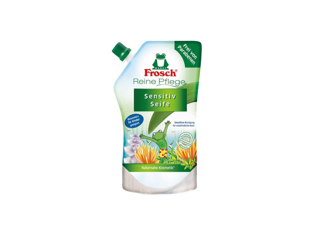 Frosch Tekuté mýdlo s Aloer Vera pro děti - náhradní náplň 500 ml  - originál z Německa