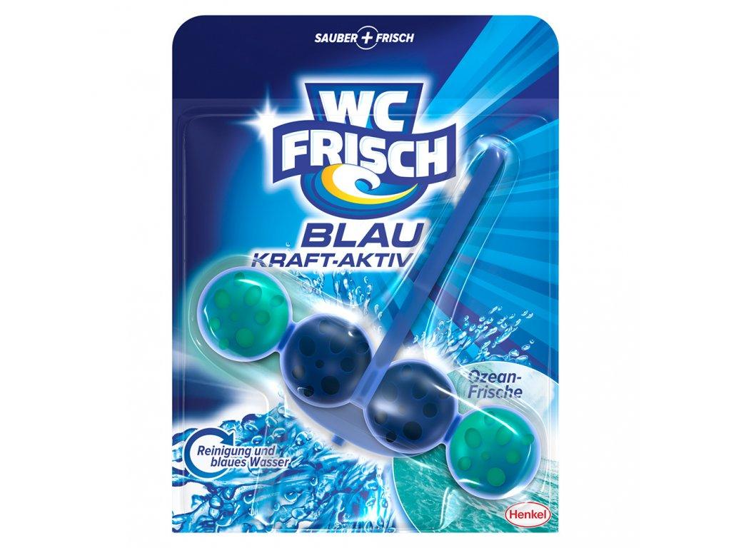 WC frisch Blau Kraft Aktiv Ozean Frische závěsný blok 50g  - originál z Německa