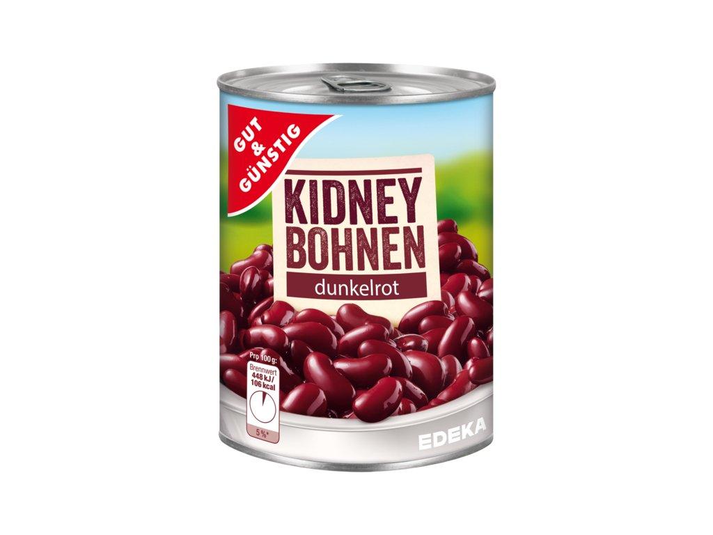 G&G Červené fazole Kidney 400g  - originál z Německa