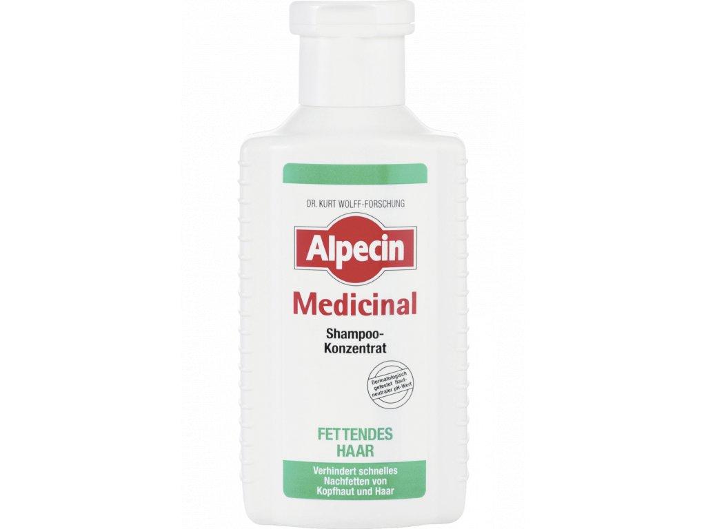 Alpecin Medicinal šampon na mastné vlasy 200 ml  - originál z Německa