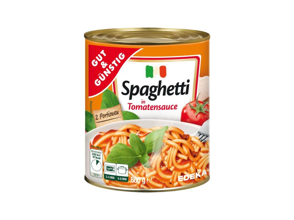 G&G Špagety s rajčatovou omáčkou 800g  - originál z Německa
