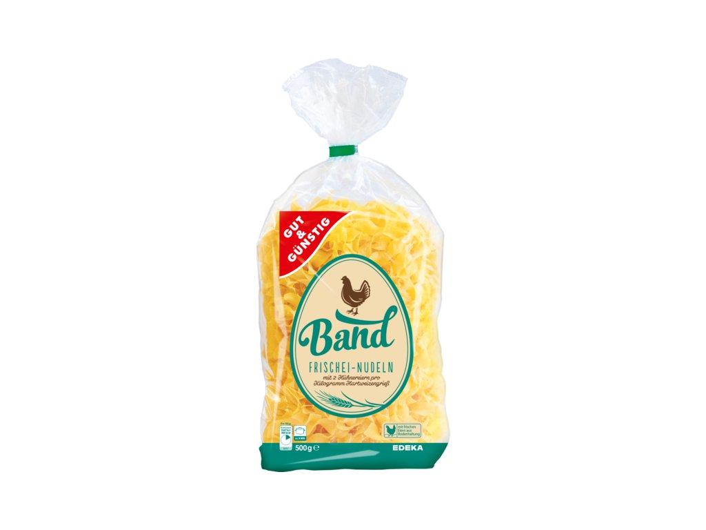 G&G Bandnudeln těstoviny z čerstvých vajec 500g  - originál z Německa