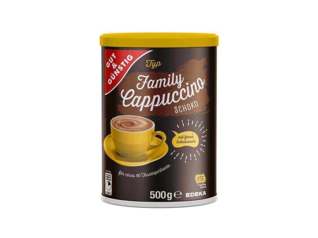 G&G Čokoládové kapučíno rodinné balení 500g