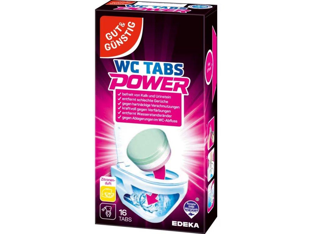 G&G POWER čistící tablety do WC, 16ks