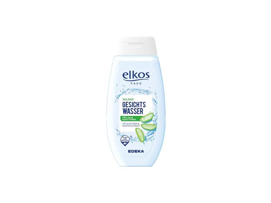 Elkos Pleťová voda s extraktem aloe vera a kaktusu 250ml