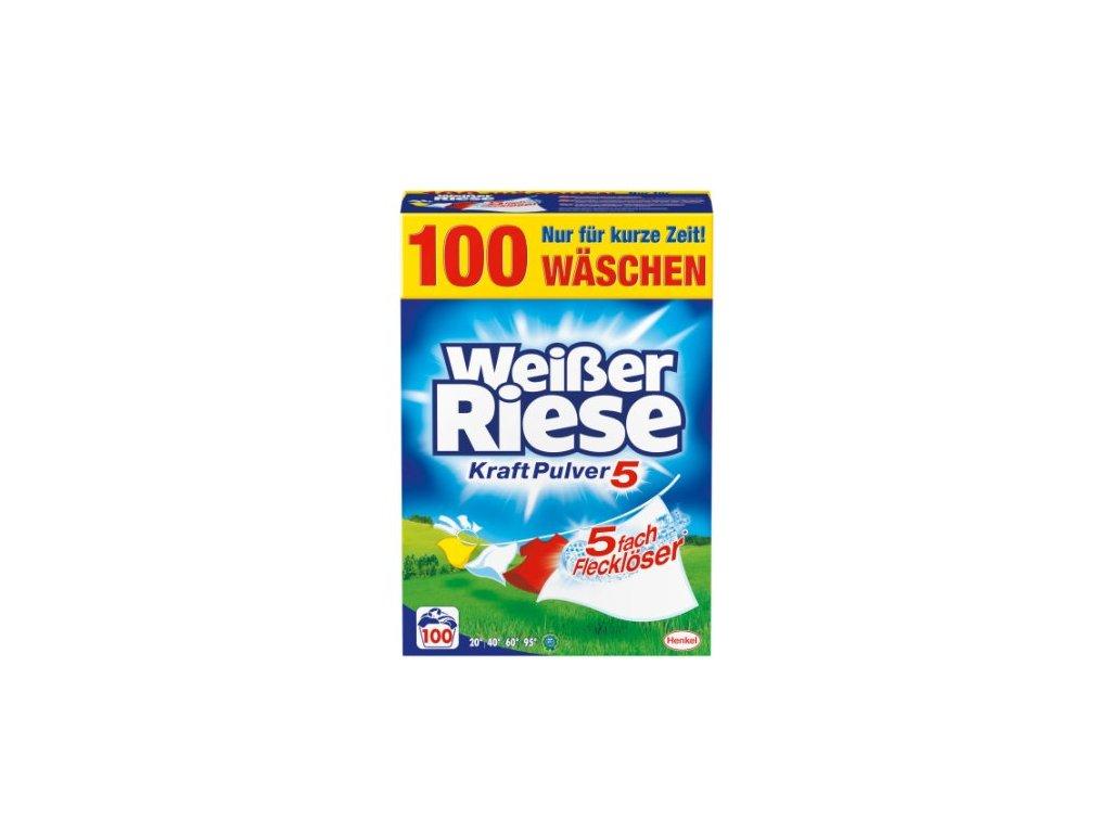 Weisser Riese KraftPulver (univerzální) 100 praní 5,5 Kg  - originál z Německa