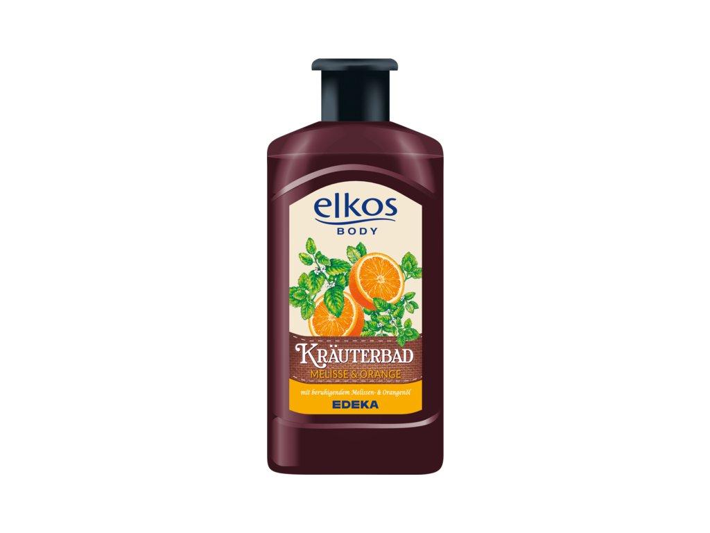 Elkos Bylinná koupel meduňka & pomeranč 500ml