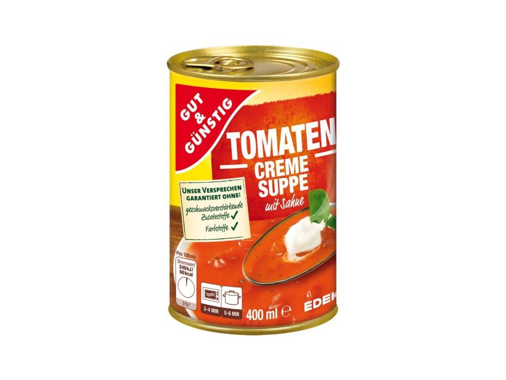 G&G Krémová rajčatová polévka se smetanou 400 ml