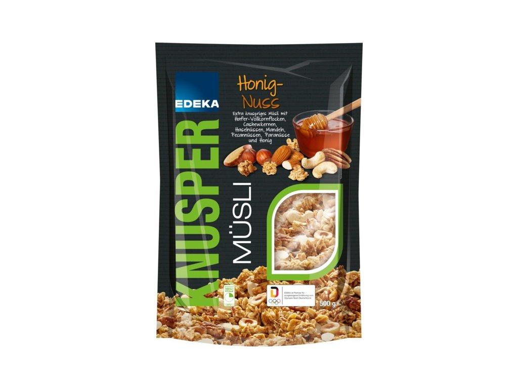 EDEKA Premium müsli s medem a 10% ořechů 500g