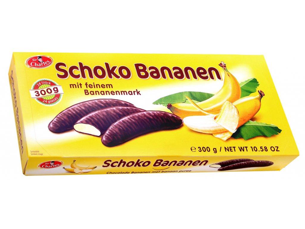 Sir Charles Banány v čokoládě 300g
