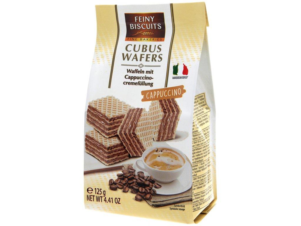 Biscuits Waflové platky s cappuccino krémovou náplní 125g