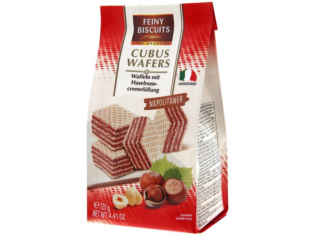 Biscuits Neapolské oplatky s lískooříškovou náplní 125g