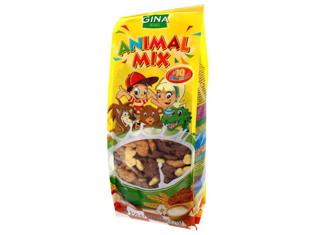 Gina Cereálie mix zvířátek 250g