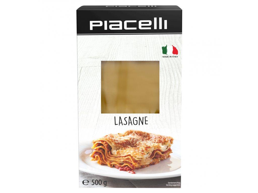 Piacelli Těstoviny lasagne, originální italské 500g