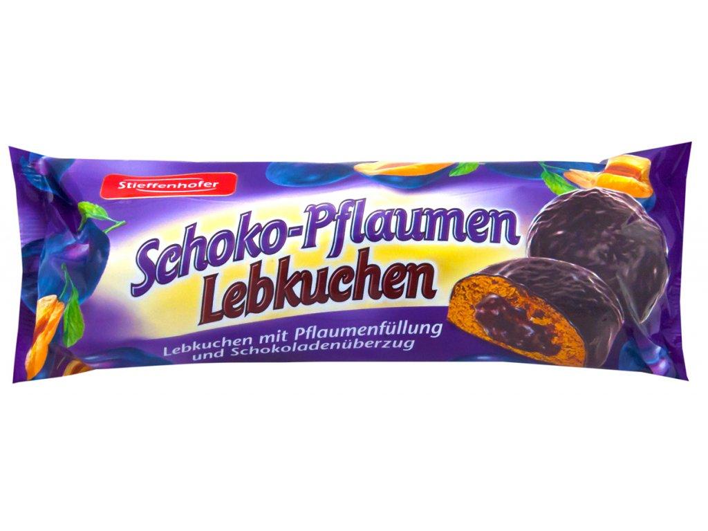 Stieffenhofer Čokoládové perníčky se švestkovou náplní 200g