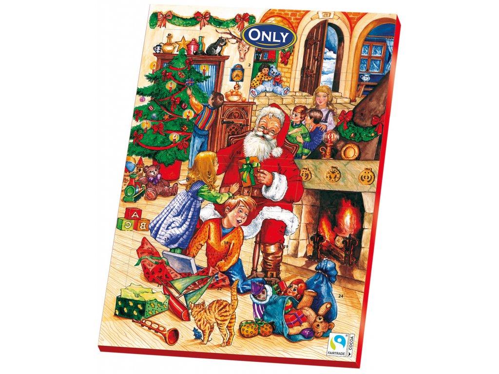 Only Adventní kalendář červený 75g