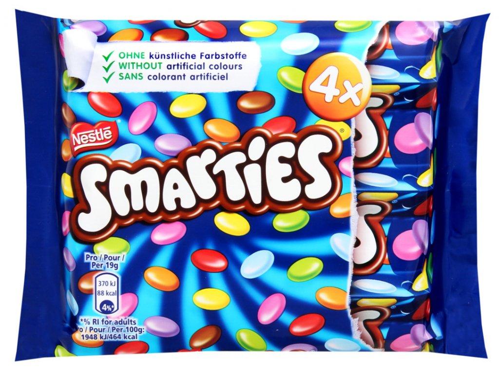 Nestle Smarties mini 4x38g, 152g3