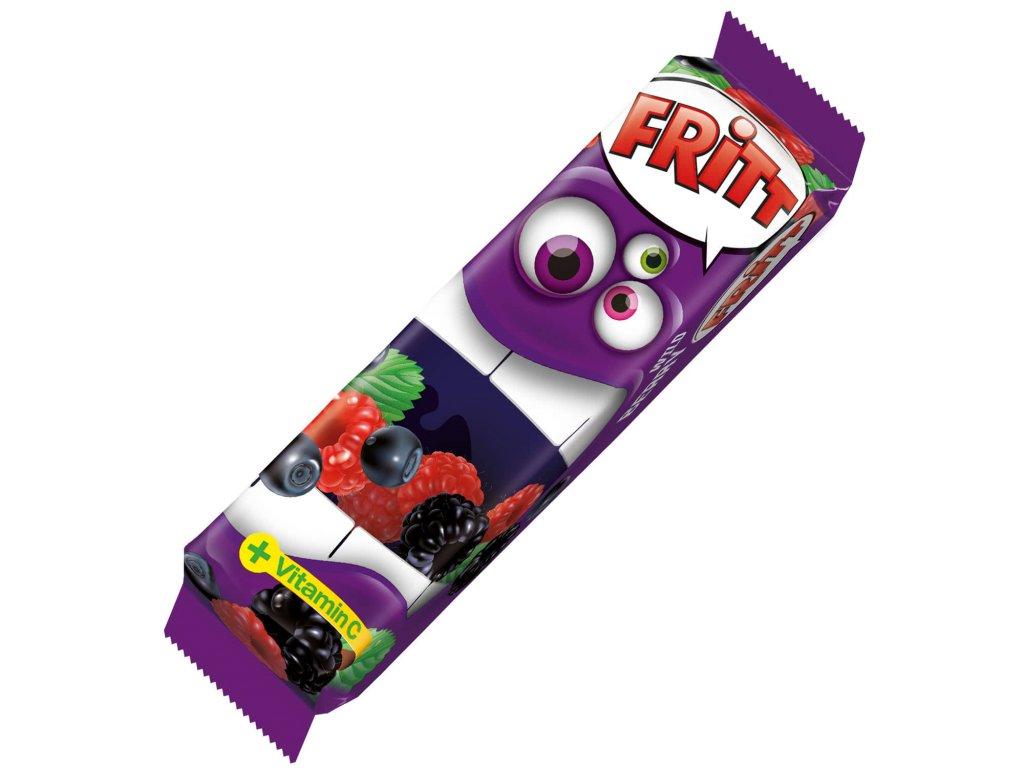Fritt Žvýkací bonbony lesní ovoce s vitamínem C, 70g
