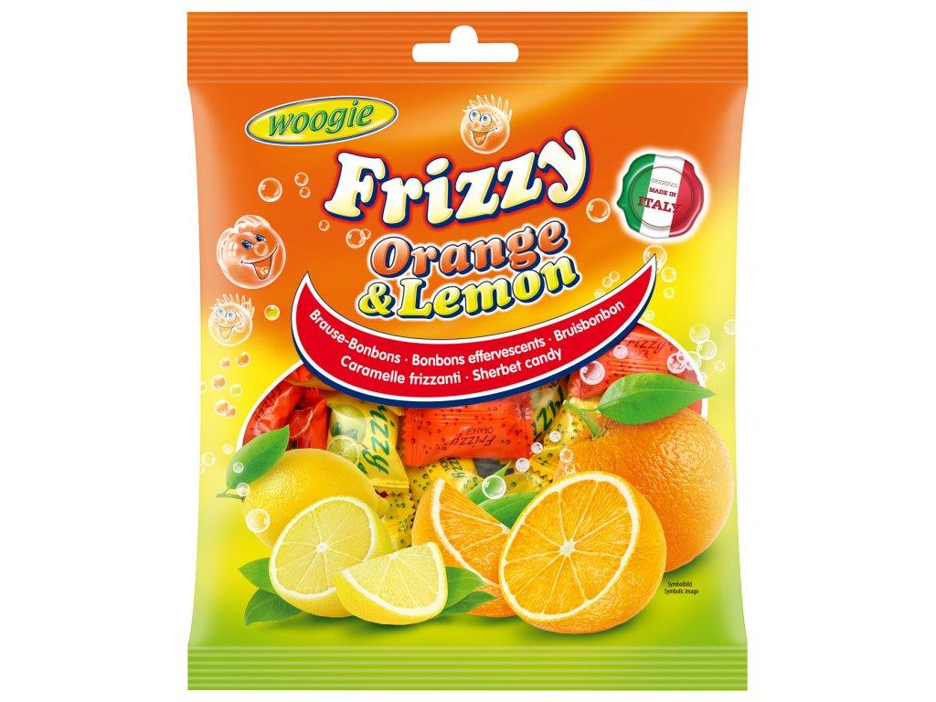Woogie Šumivé bonbóny pomeranč a lemon 250g
