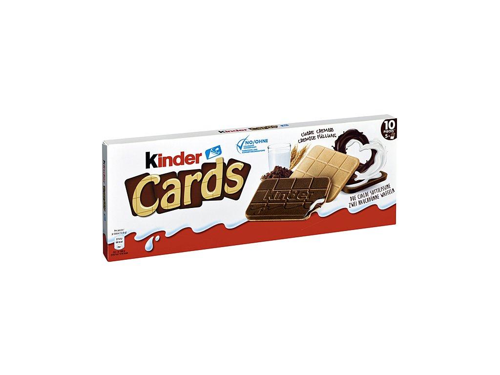 Ferrero Kinder Cards 128g