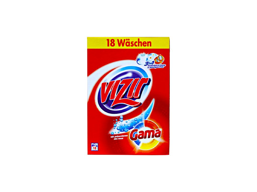 Vizir univerzální prací prášek 1.170 Kg, 18 dávek  - originál z Německa