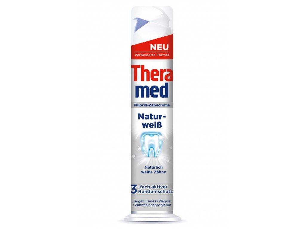 Theramed Natur-Weiss, Zubní pasta s bělícím účinkem 100ml  - originál z Německa
