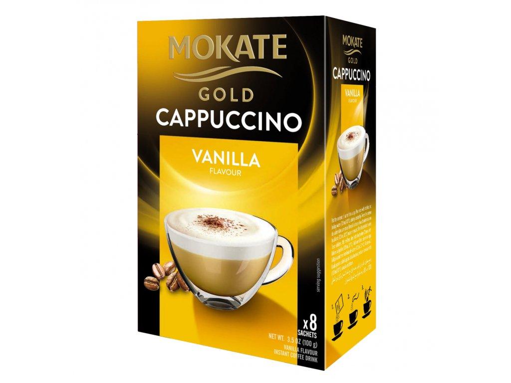 Mokate Cappuccino vanilka 125g