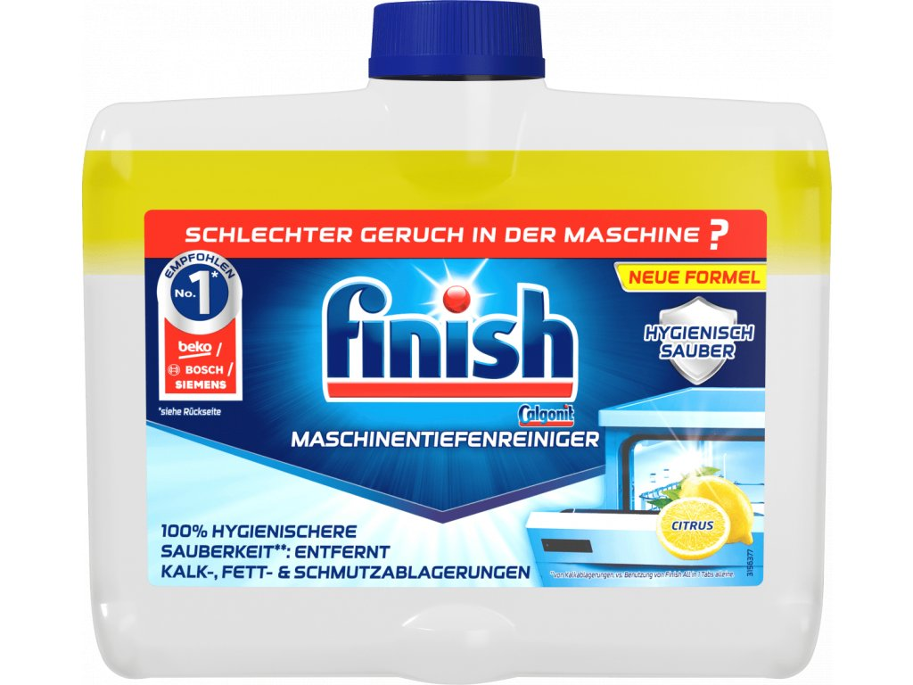 Calgonit Finish Čistič myčky lemon 250 ml