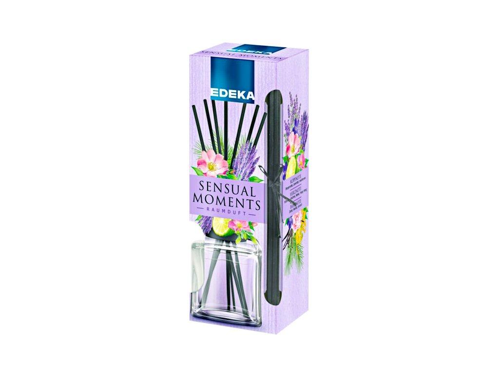 Edeka Sensual Moments bytový parfém levandule a divoké růže 100ml