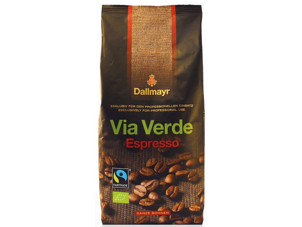 Dallmayr Café Creme VIA Verde zrnková bio káva 1 kg