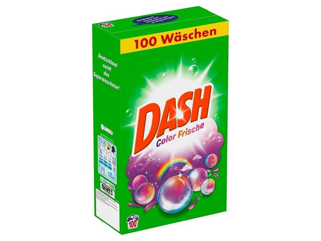 Dash prášek na praní barevného prádla 100 dávek, 6,5 Kg