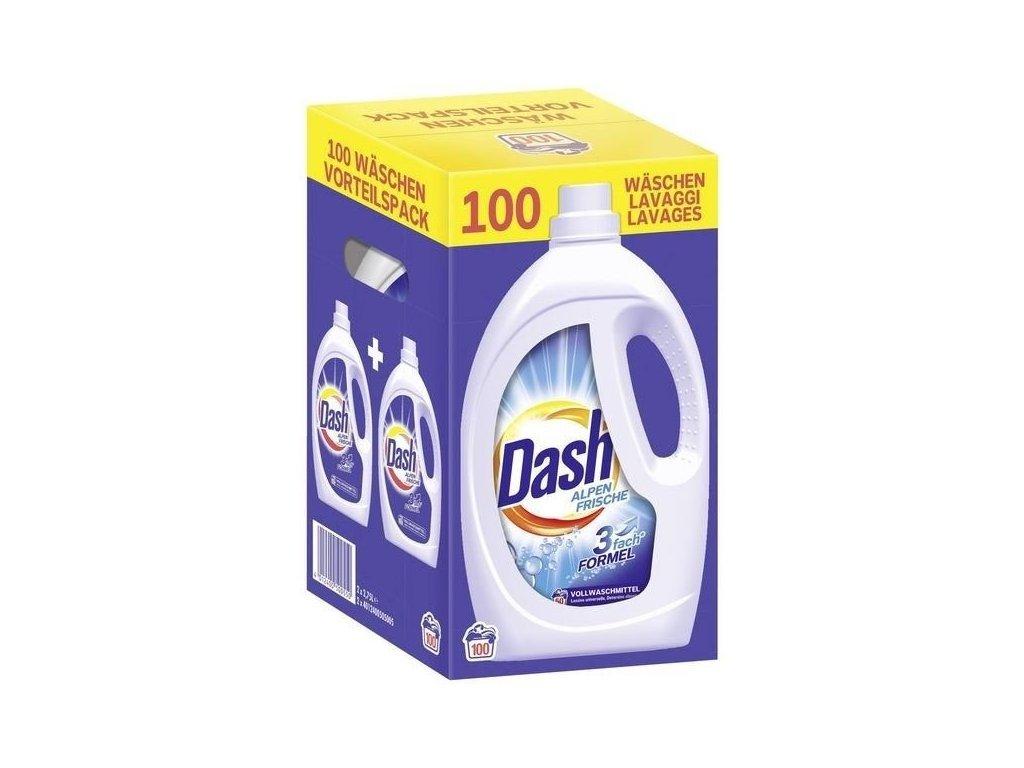 Dash Alpenfrische univerzální prací gel 2 x 50, 100 PD, 5,5l