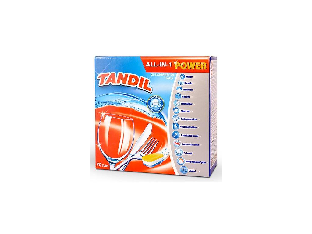 Tandil tablety do myčky All in 1, 70 tablet, 1470g