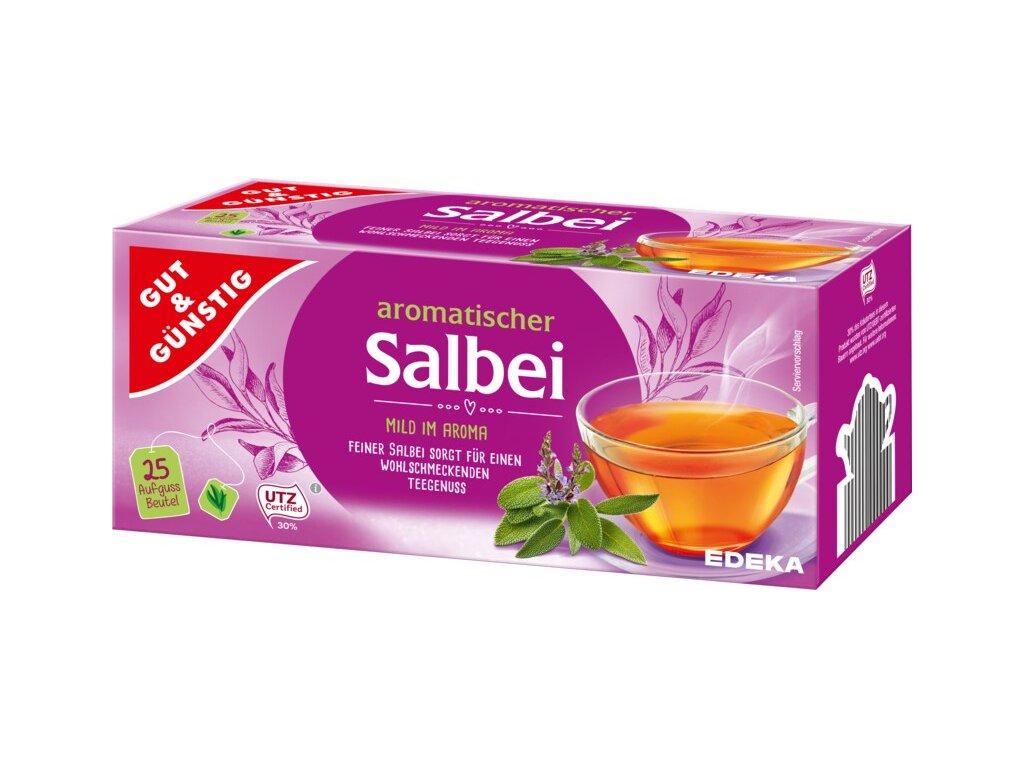 G&G Šalvějový čaj s ibiškem 25 sáčků, 87,5g