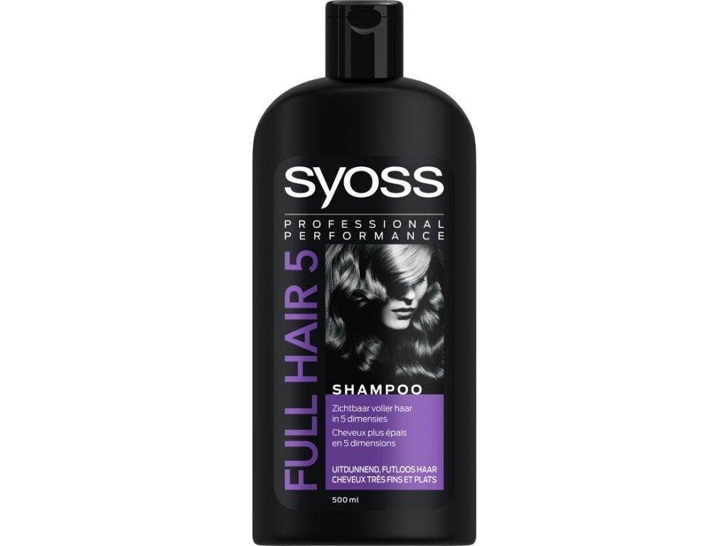 Syoss Shampoo 400ml Full Hair