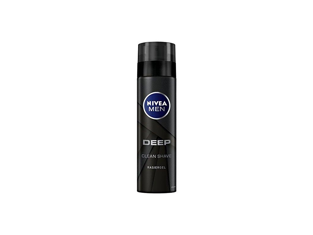 Nivea Men Deep gel na holení 200 ml