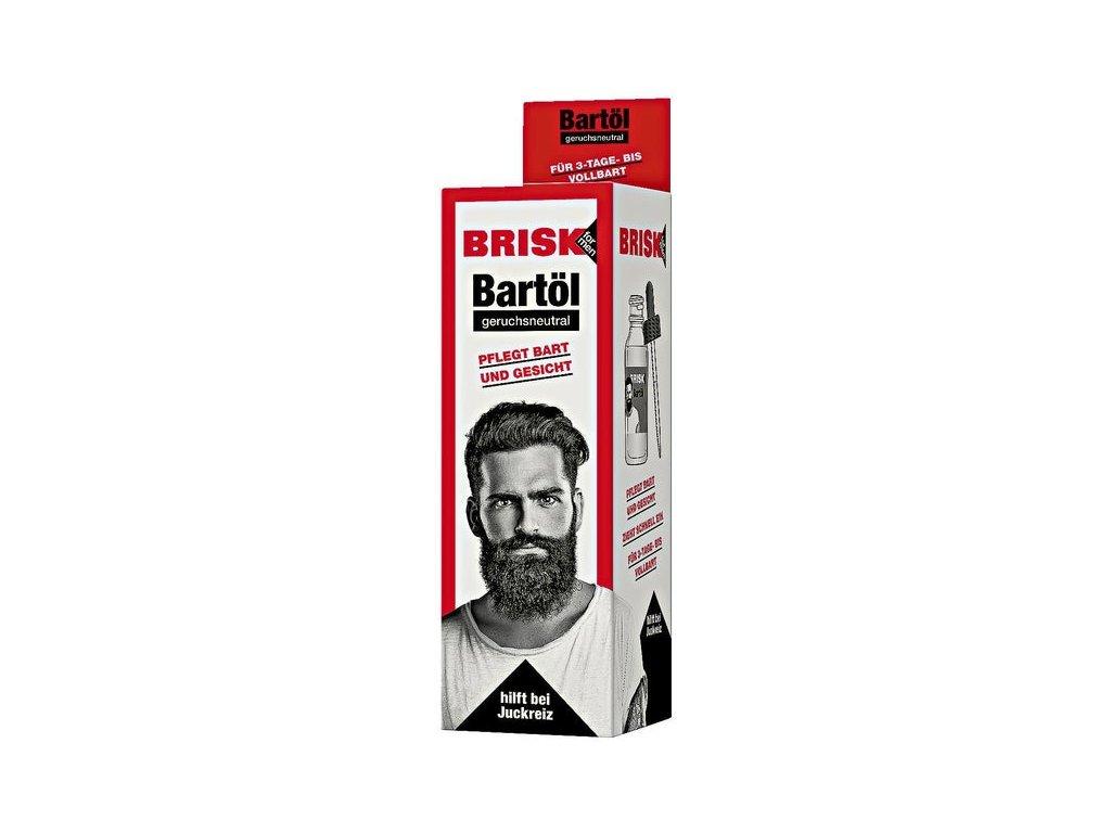 BRISK for Men olej na vousy bez vůně 50ml