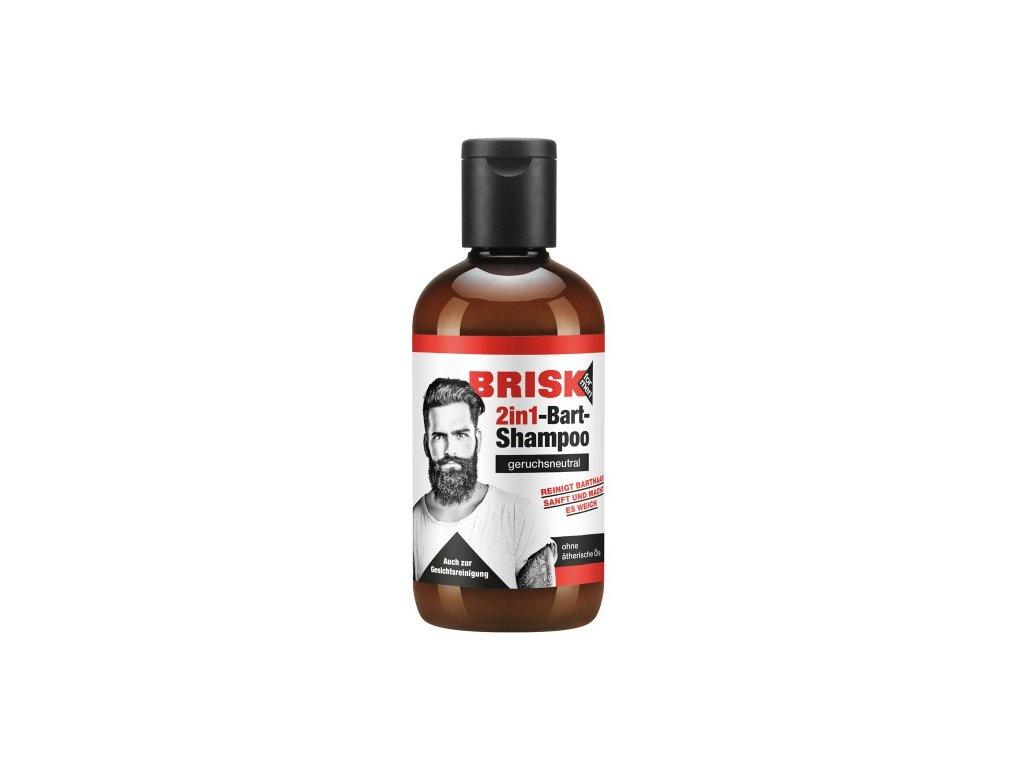 BRISK Šampon na vousy bez vůně 150 ml