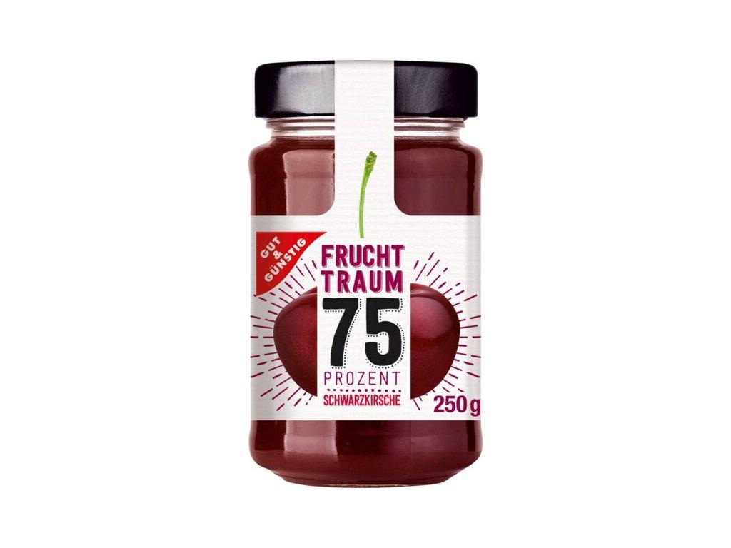 G&G Premium višňový džem se 75% ovoce, 250g