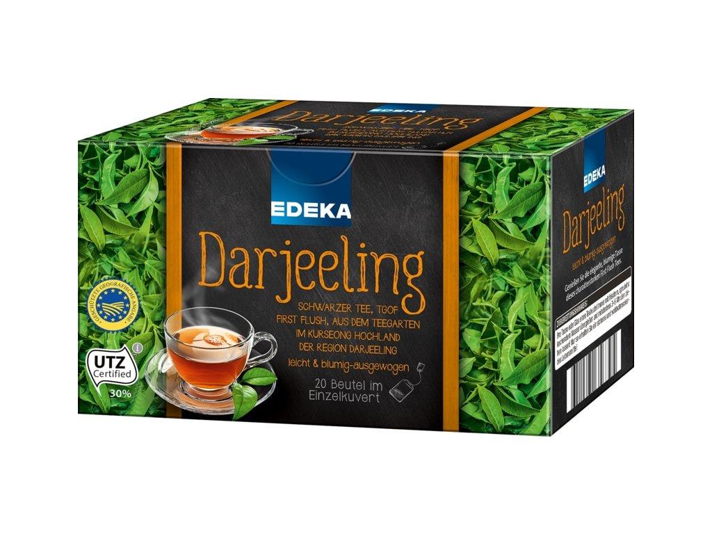 Edeka Darjeeling premium černý čaj 20 sáčků, 40g